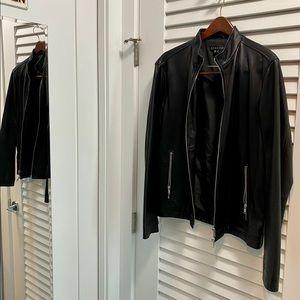 Theory Men's Leather Jacket
